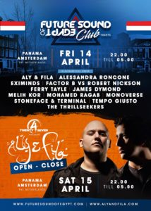 aly and fila amsterdam fsoe club night open to close