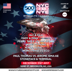 FSOE 500 NYC Line Up Announcement