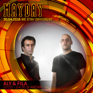 MAYDAY GERMANY INDIVIDUAL GRAPHIC ALY & FILA