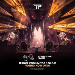 Trance Podium Top 100 DJs artwork june 2018