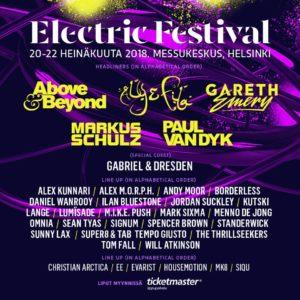 Electric Festival Helsinki