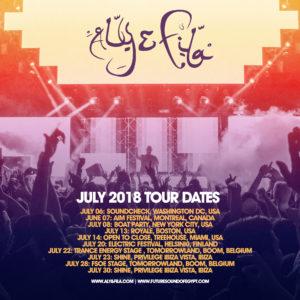 July Tour Dates