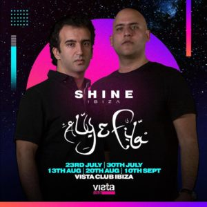 Shine Ibiza Designated artwork