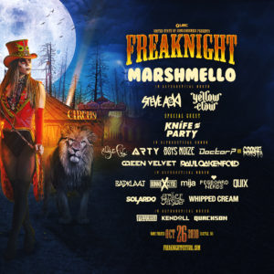Freaknight, Seattle, OCtober 26 2018