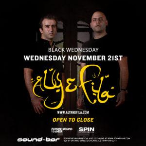 SoundBar Open to Close Chicago Nov 21st